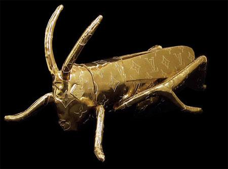 日本博物馆惊现LV蝗虫:山寨还是艺术?