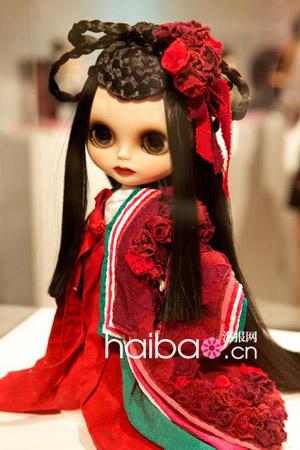可爱玩偶穿定制时装,华丽丽惊艳!