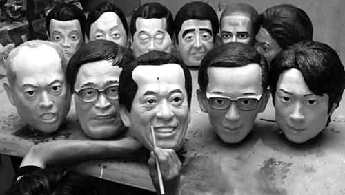 首相也成盈利品  日本玩具商推出首相菅直人橡胶面具