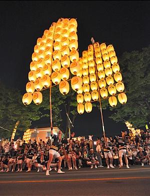 了解东北三大庆典之竿灯祭