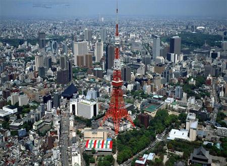 日本第一塔 东京铁塔