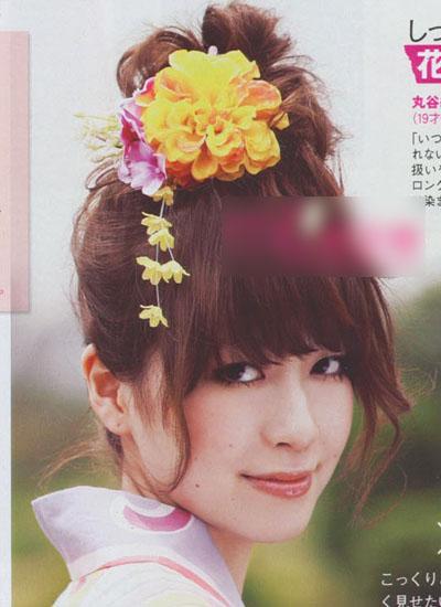 发带丝巾一起来 日系最新扎发一学就会