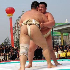 日本神道的宗教仪式   相扑运动