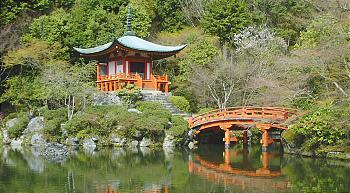 对自然美的膜拜——醍醐寺三宝院