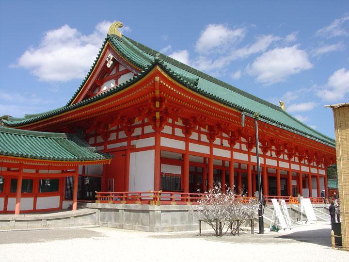 京都平安神宫——海外的唐代皇宫图片