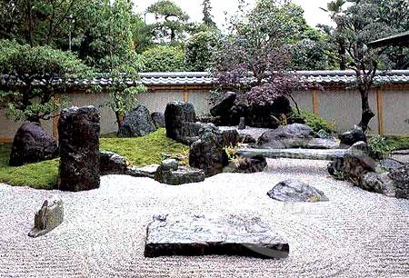 抽象的艺术——日本禅宗 枯山水庭园