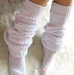 日本女生大爱的时尚泡泡袜