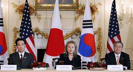 日美韩三国举行外长会谈图片 25929 450x246