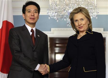 日美韩三国举行外长会谈图片 19176 450x326