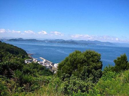 濑户内海中最大岛屿 淡路岛