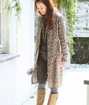 日系穿衣风格的优雅温柔