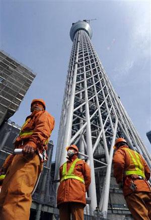 东京新推出以东京天空树为构想的便当