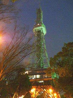 名古屋电视塔熄灯悼念遇难同胞
