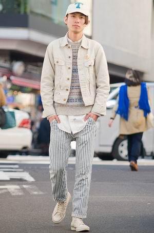 三月日本街拍 各路潮人秀搭配