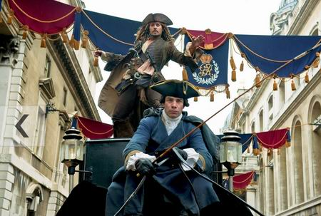《加勒比海盗4》两主演24日将赴日为影片造势