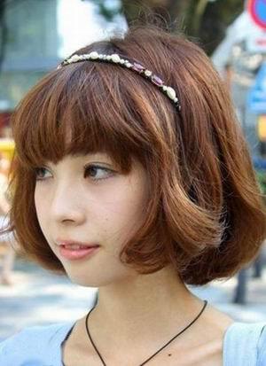 今春最流行 东京潮范短发