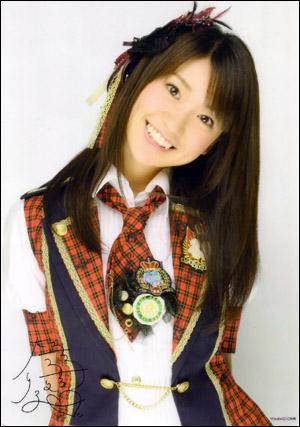 AKB48成员大岛优子 博客感谢日本救援队