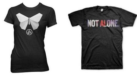 林肯公园设计公益T恤 收入捐助日本地震