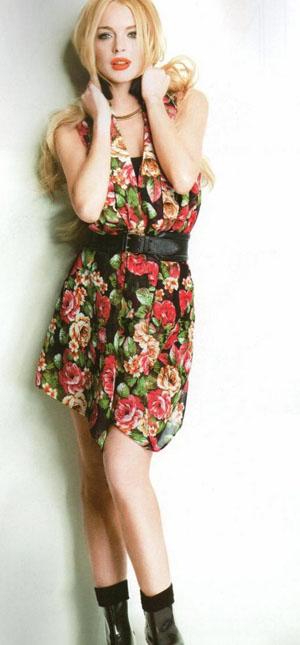 林赛・罗韩登日本杂志酷似艾薇儿 偷窃珠宝视频将被公开