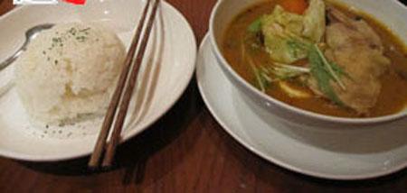 异国风味浓厚的日本特色料理——汤咖哩