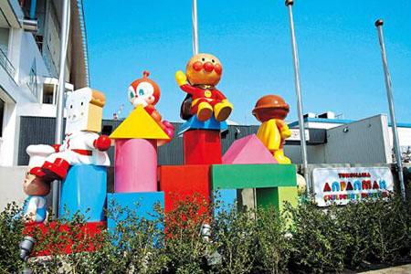 日本超人气面包超人博物馆