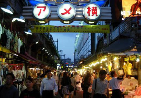 东京都AMEYOKO商店街