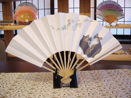 京扇子 展现日本无限风情