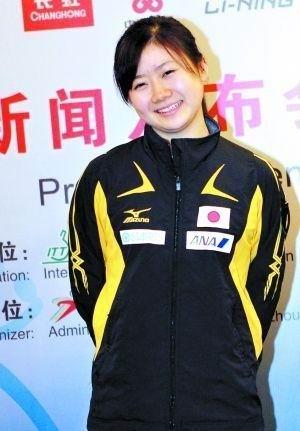 日本乒乓球星福原爱 准备将比赛奖金全部捐给灾区
