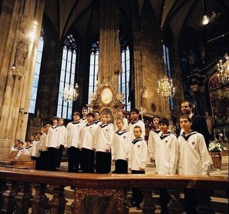 维也纳少年合唱团用歌声支援灾区 举办慈善演出