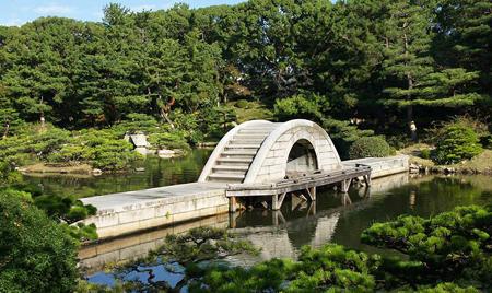 迷你的贵族花园 广岛缩景园