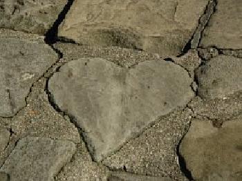带来幸运爱情的心形石