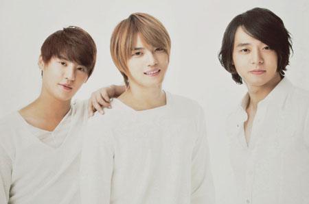 JYJ专辑被Oricon榜除名 因为与艾回的合约已无效