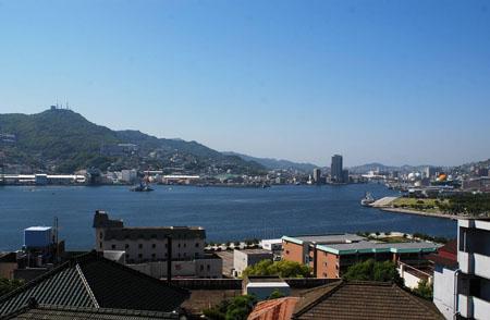 商贸繁华之地 长崎港