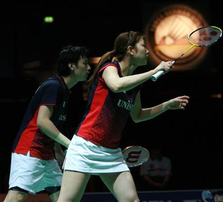 世界羽联黄金大奖赛混双决赛 英国组合2比1战胜日本组合