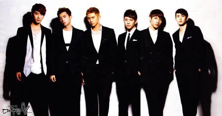 野兽组合2PM进军日本倒计时 5月将发出道单曲《TAKE OFF》