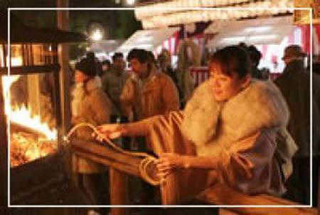 祈求新年身体健康的传统活动  苍术庙会