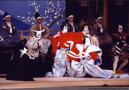 『日本舞蹈』乡村歌舞伎