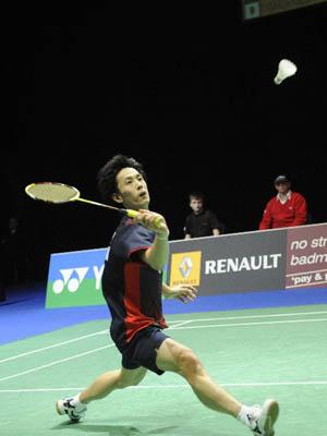 全英羽毛球公开赛首轮较量 陶菲克负山田和司爆冷出局