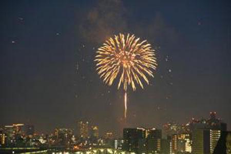 日本最古老的烟火大会 隅田川烟火大会