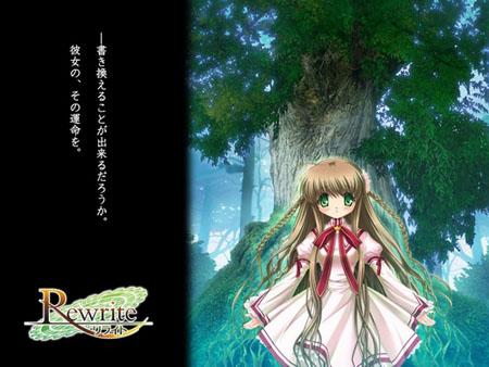 恋爱AVG游戏《Rewrite》延期至6月24日发售