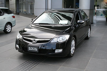 本田将在全球召回5万台以上的思域轿车