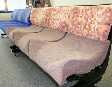 JR东日本将在山手线上实验新的电车座椅