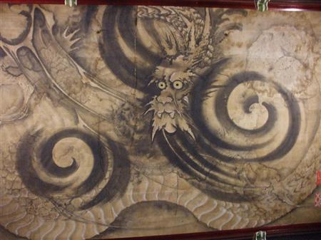 净感寺本堂建筑画作被指定为县文化财产
