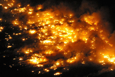 东日本大地震·火灾灾情