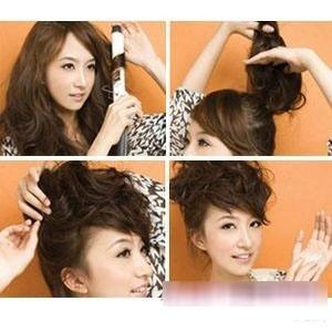 留海额头的安全比例打造安全发型