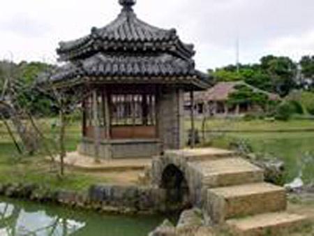 冲绳古色古香的园林——识名园