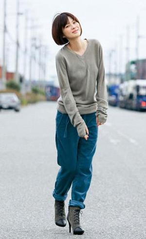 修饰腿形 穿出个性 日本最新秋装推荐——裤装篇
