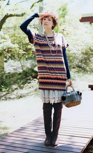 大热门!今年流行花色连衣裙