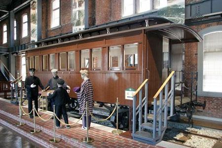 过一把当列车长的瘾  九州铁道纪念馆