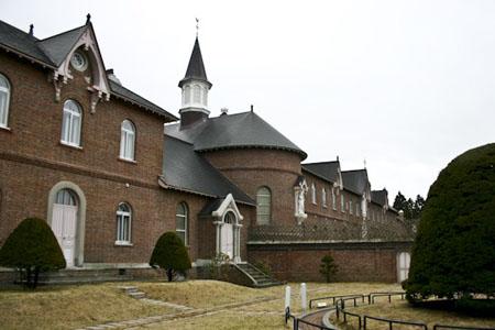抚摸旧时的传教历史  特拉比斯会修道院